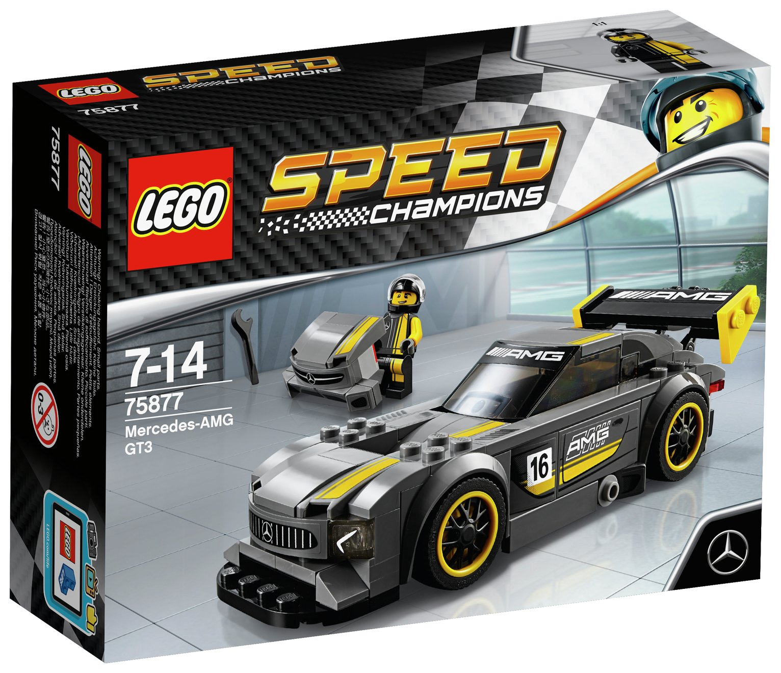 Image of LEGO Mercedes AMG GT3 - 75877.