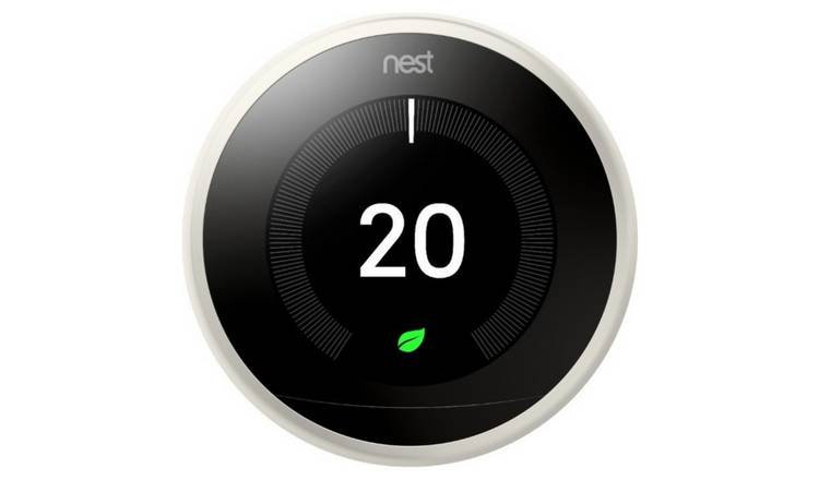 Google Nest Learning Thermostat 3rd Generation - White