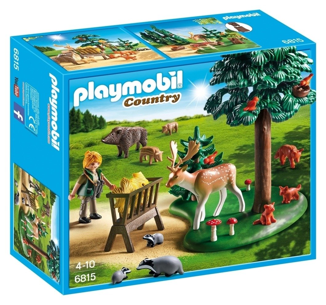 playmobil 6815 country woodland grove.
