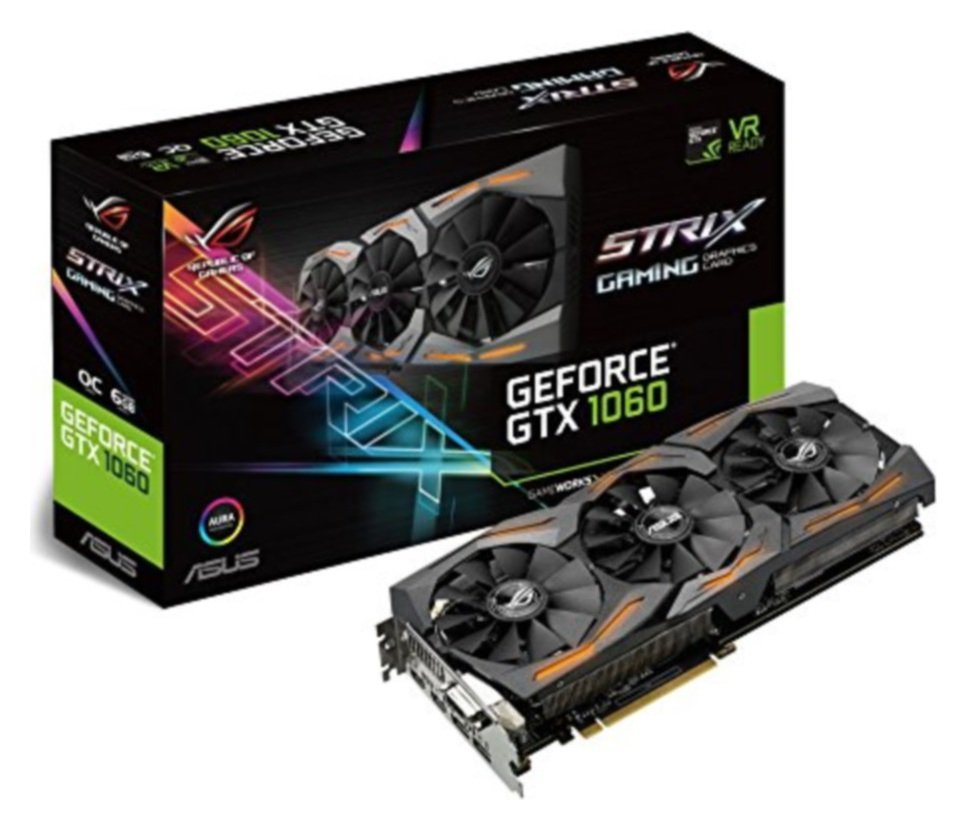 ROG Strix GeForce GTX 1060 gaming graphics cards are packed with exclusive ASUS technologies, including DirectCU III Technology with Patented Wing-Blade Fans for 3...