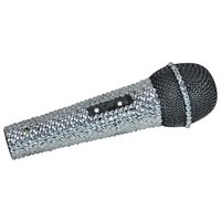 New Jersey Sound Crystal Effect Karaoke Microphone.