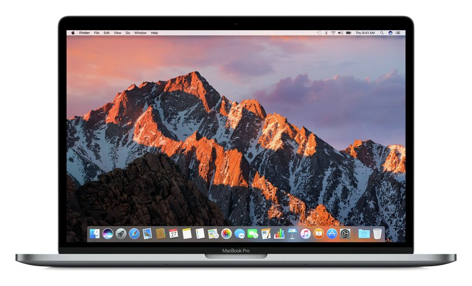apple Apple MacBook Pro Touch 2017 15 In i7 16GB 256GB Space Grey