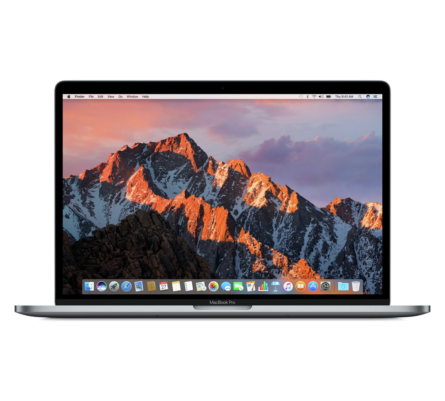 Apple MacBook Pro Touch 2017 15 In i7 16GB 256GB Space Grey by Apple 684/6677
