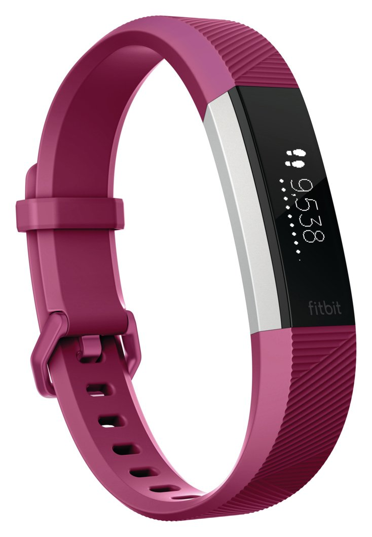 Image of Fitbit Alta HR Fitness Large Wristband - Fuchsia
