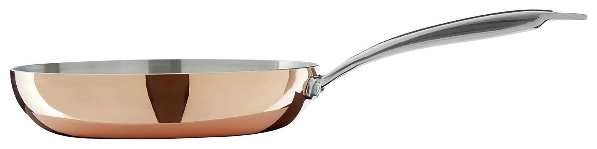 Image of Minerva Copper Finish 24cm Frying Pan.