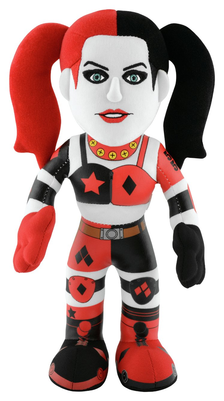 Image of Bleacher Creatures DC Comics Roller Derby Harley Quinn Plush