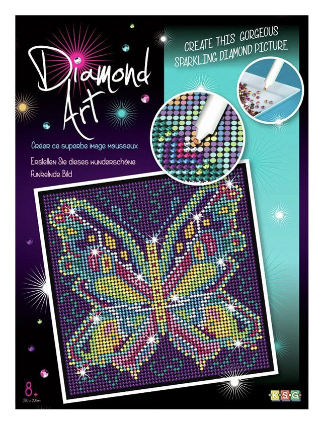 Sequin Art Diamond Art Kit - Butterfly