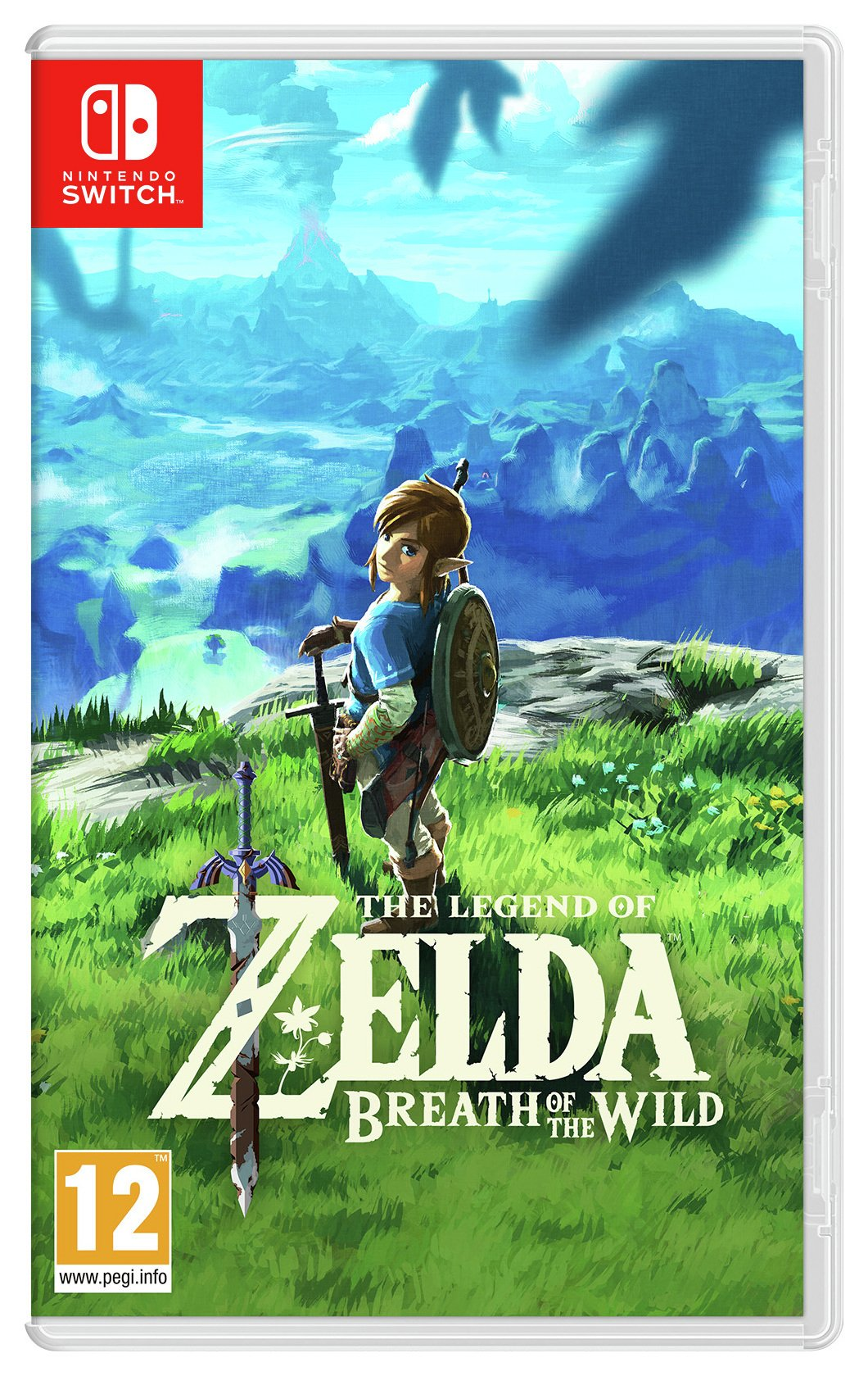 Legend of Zelda: Breath of the Wild Nintendo Switch Game