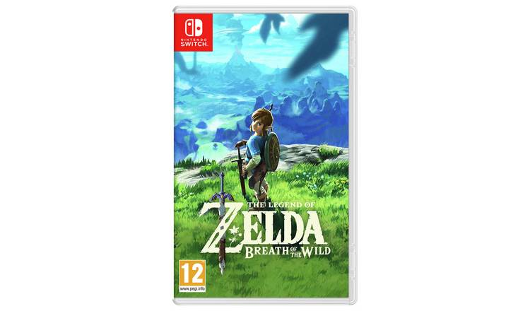 Buy Legend Of Zelda Breath Of The Wild Nintendo Switch Game Nintendo Switch Games Argos