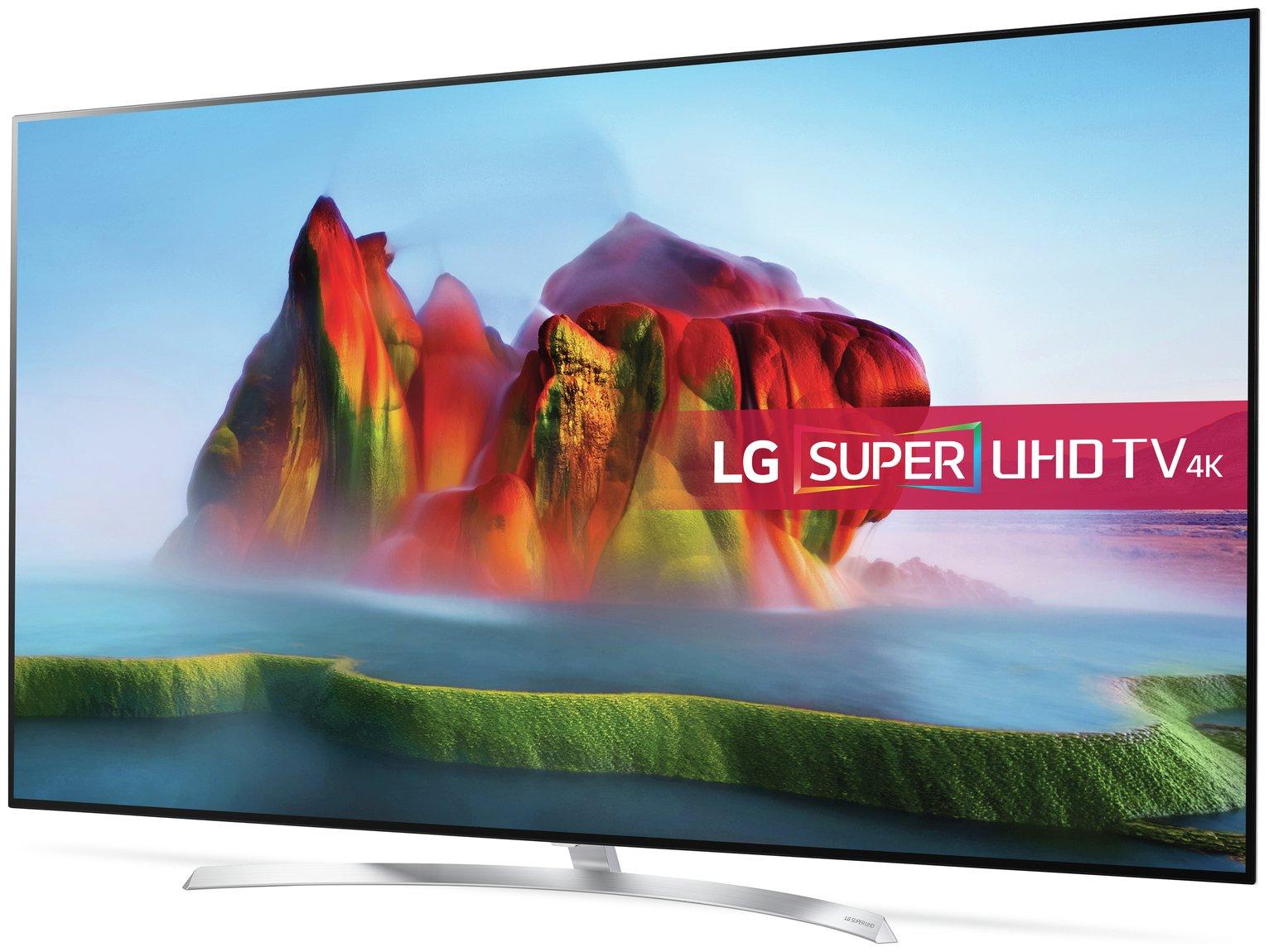 LG LG 55SJ850V 55 Inch Smart 4K Ultra HD TV with HDR - 20kg