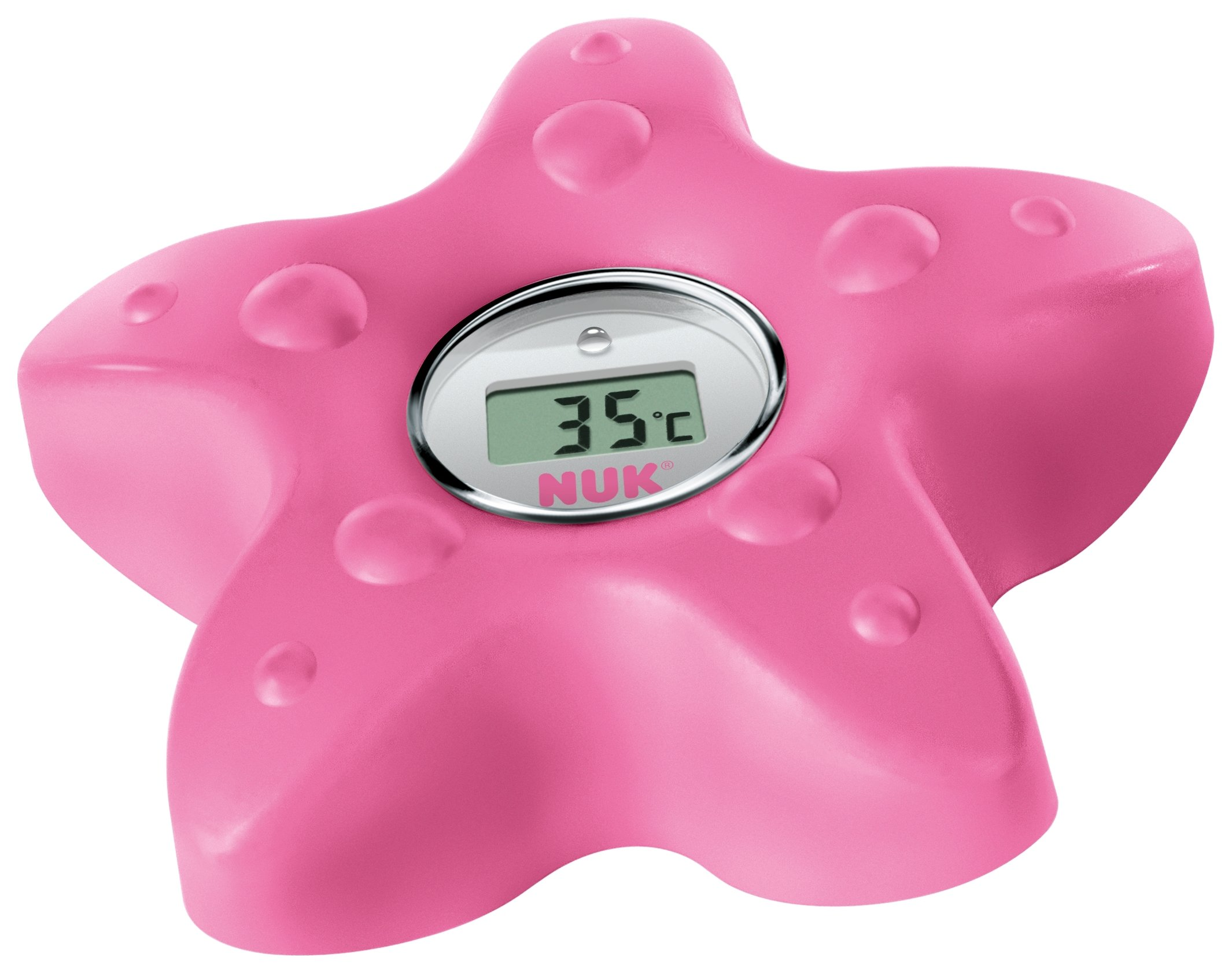 Image of NUK Digital LCD Bath Thermometer ??? Pink
