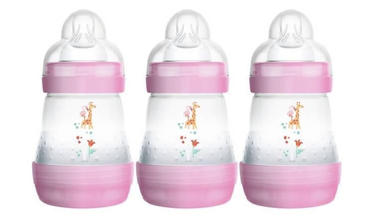 MAM Easy Start Anti-Colic Bottles 3 x 260ml 2 Months Blue 1 2 3 6 12 Packs