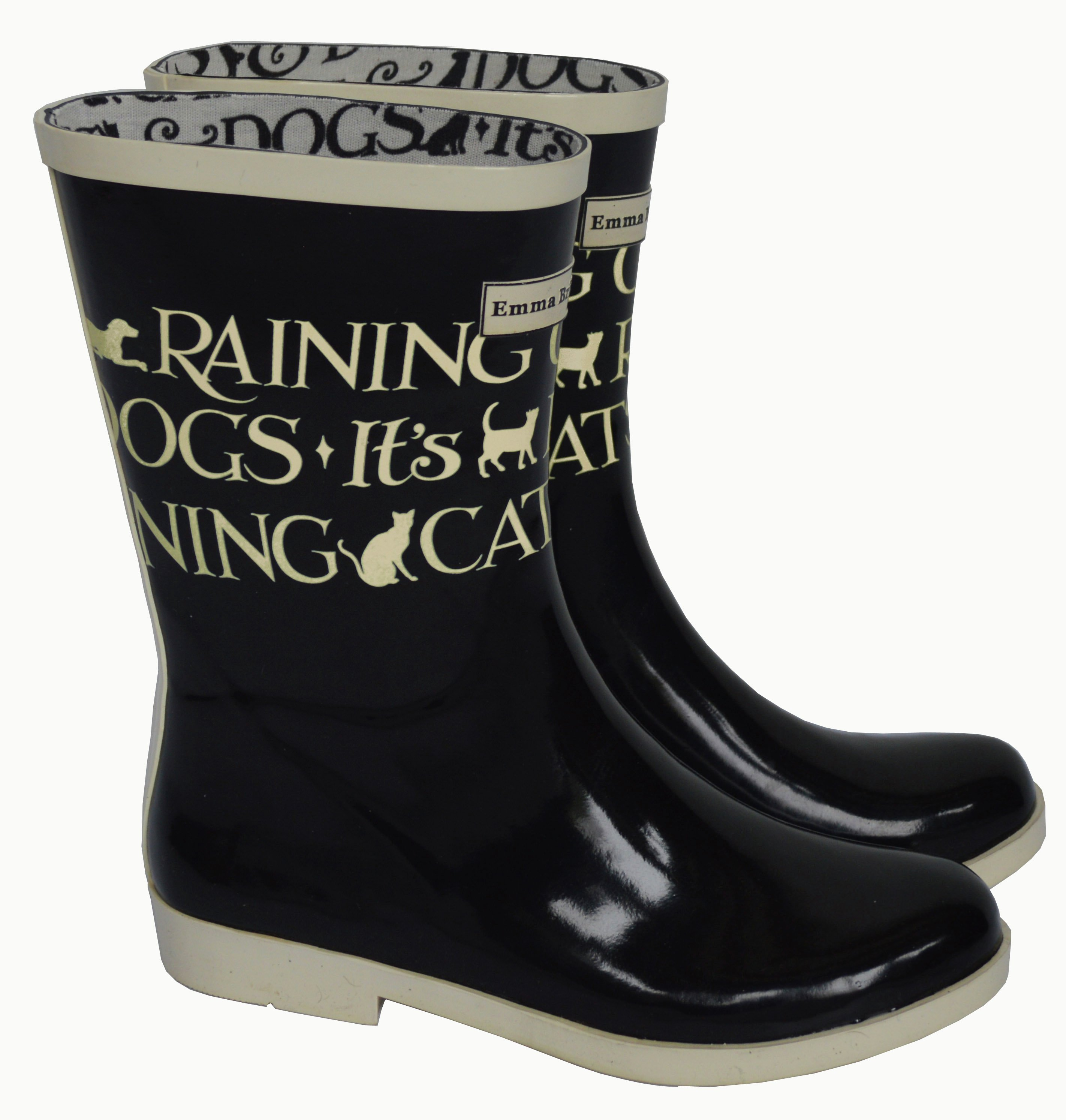 Image of Emma Bridgewater - Womens - Short Toast Wellies - Size 3