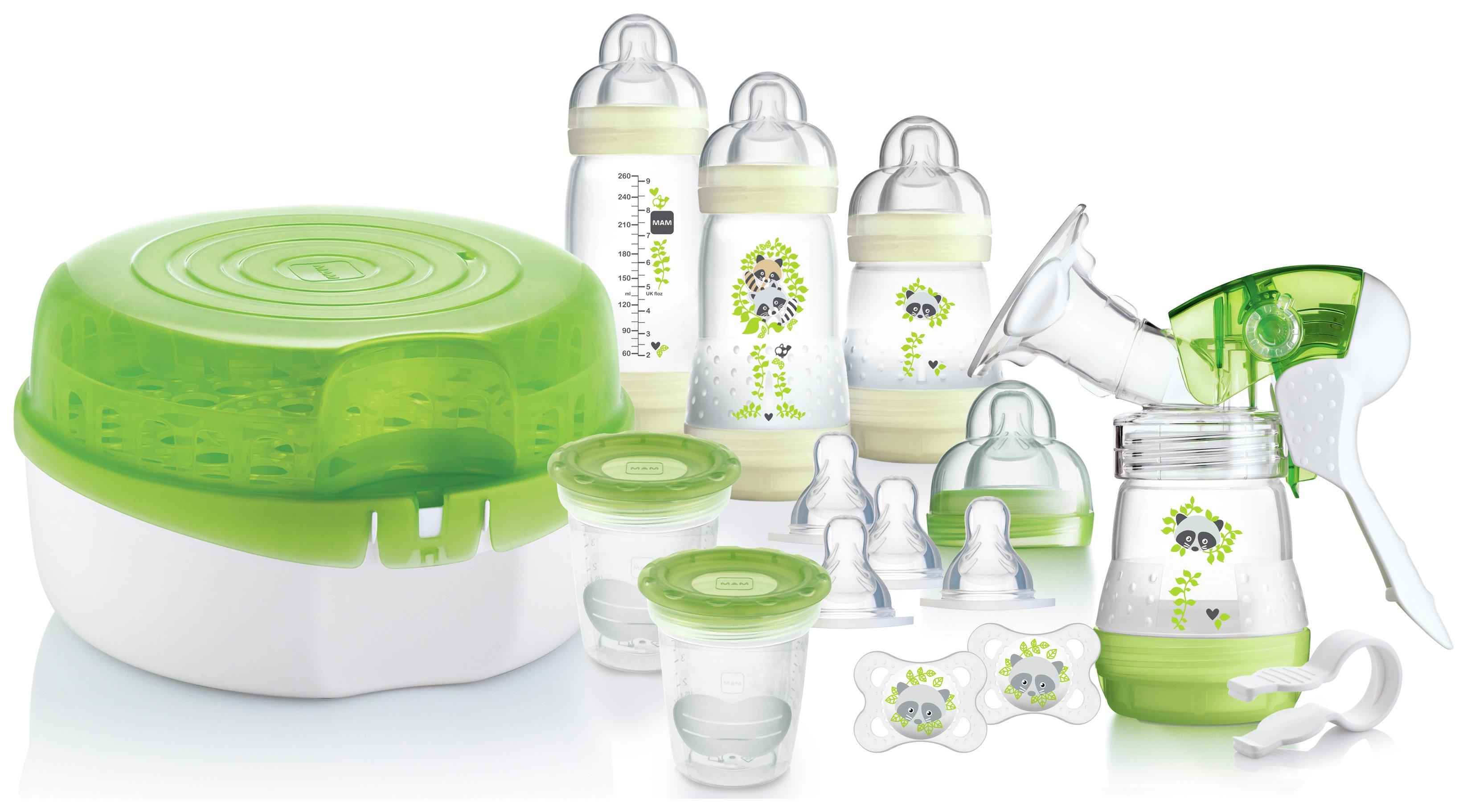 Image of MAM Breastfeeding and Steriliser Set.