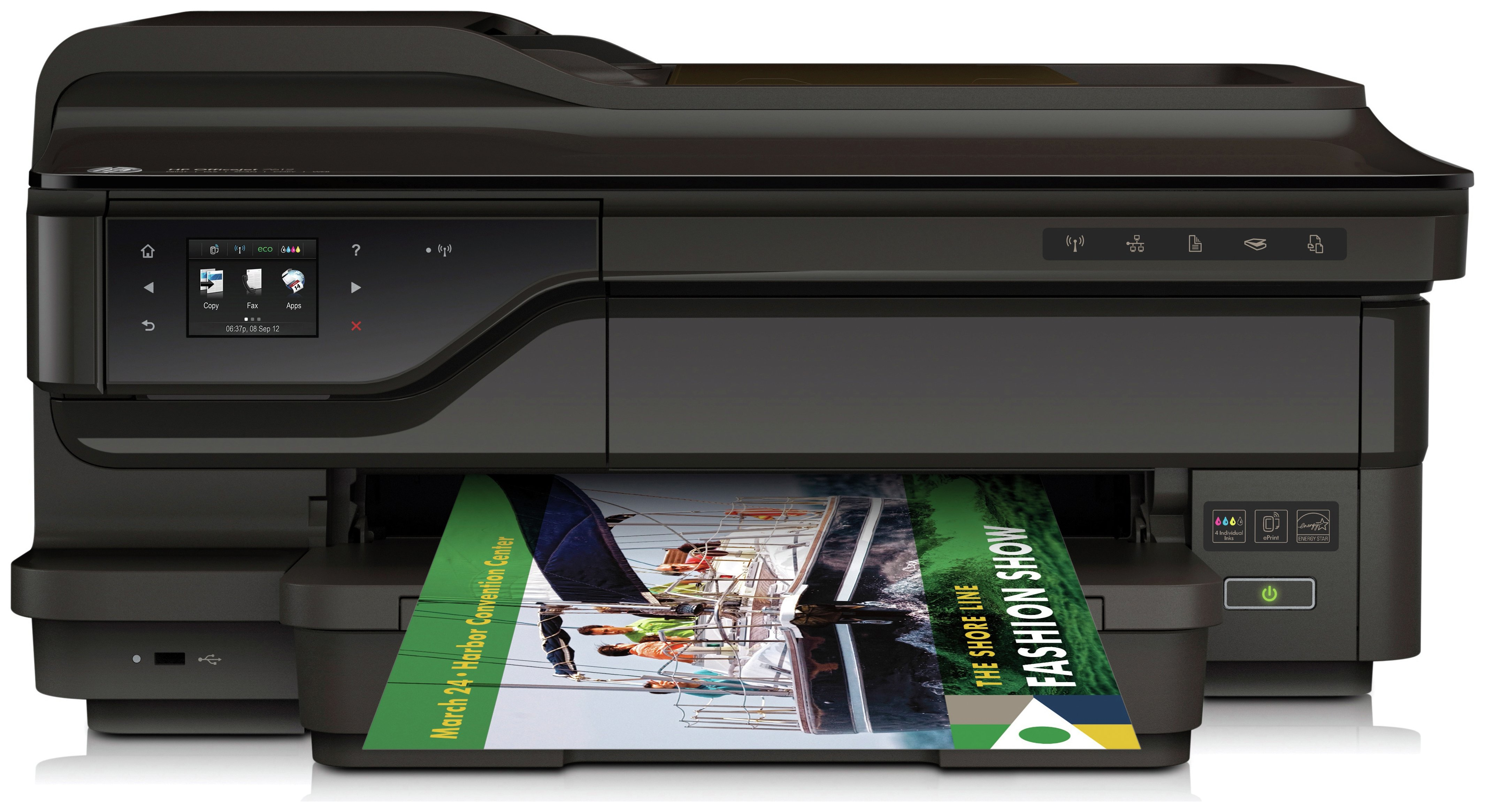 HP OfficeJet 7612 A3 All-in-One Printer.