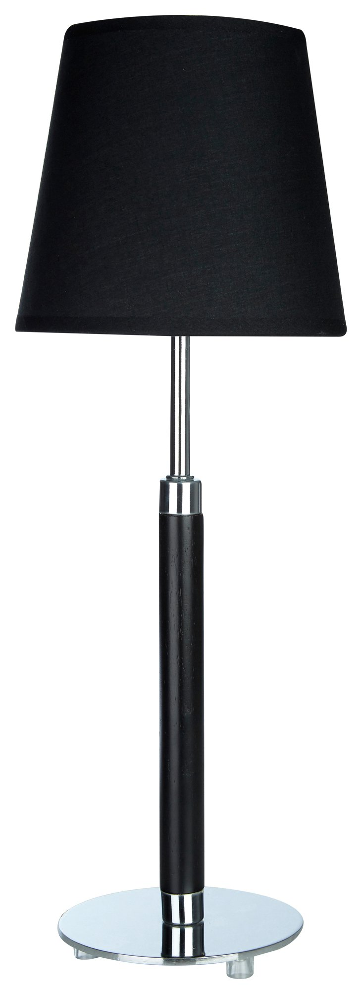 Image of Whitney - Table Lamp - Chrome & Black