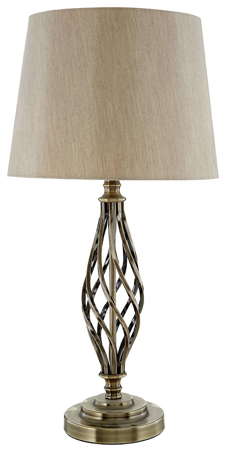 Image of Jakinda - Table Lamp - Antique Brass