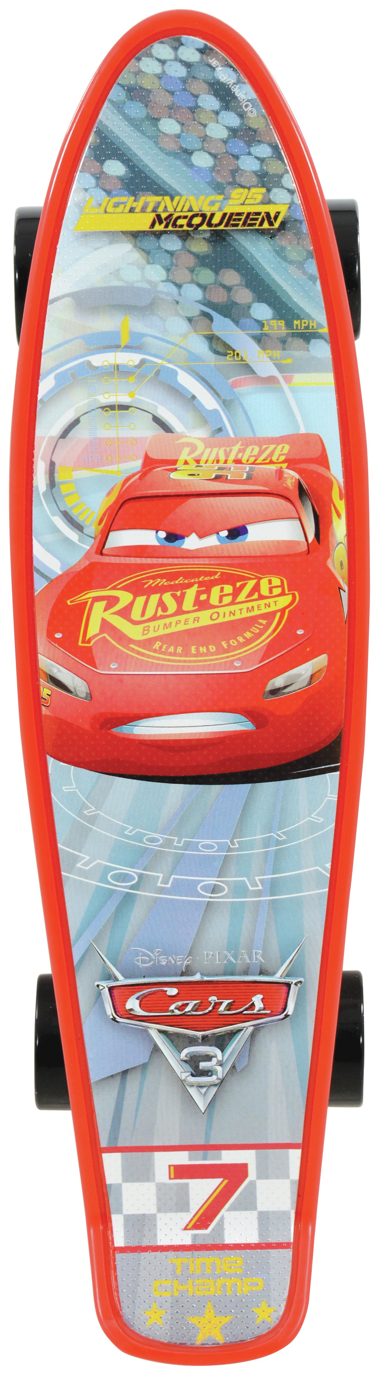 Image of Disney Cars 3 Cruiser Skateboard.
