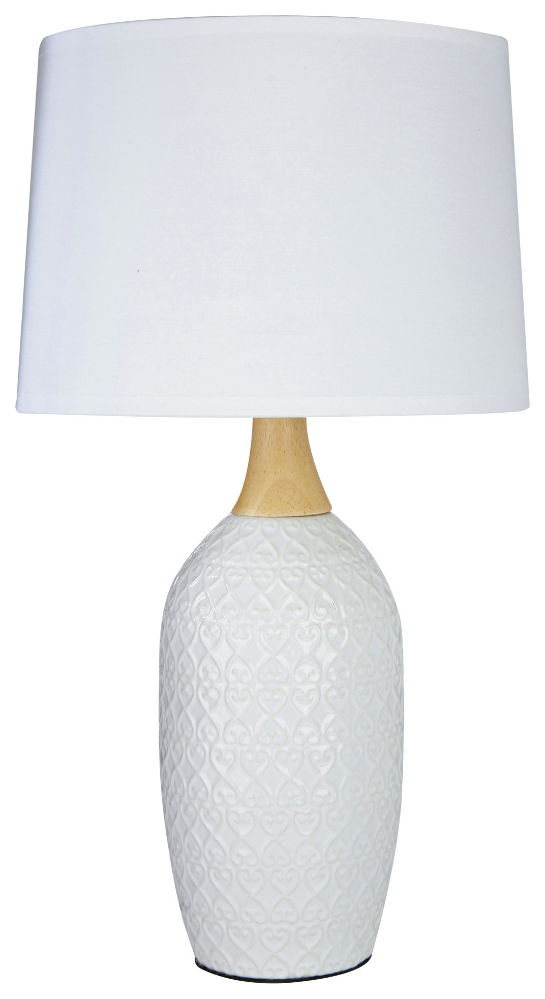 Image of Willow - Ceramic - Table Lamp - White