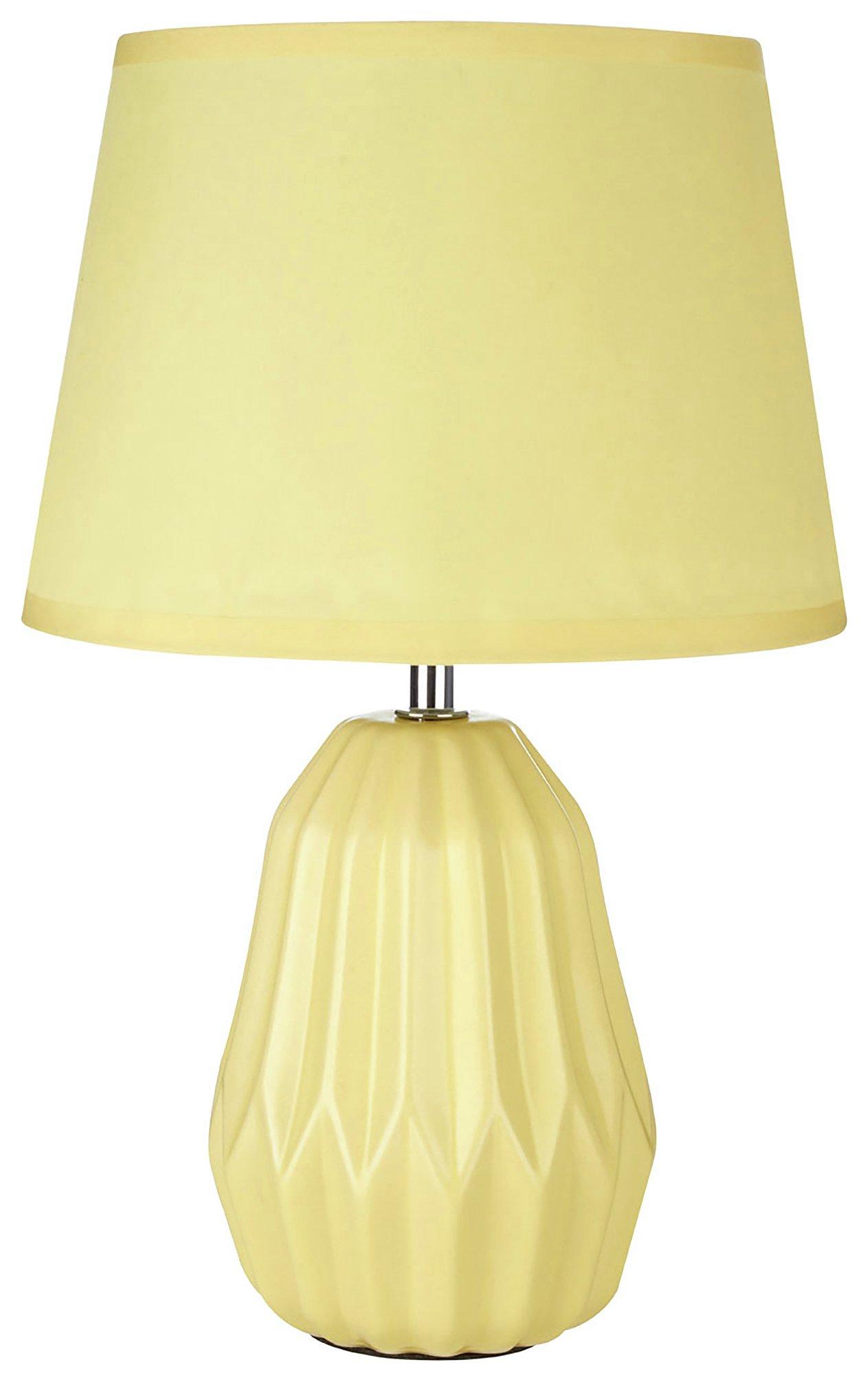 Image of Winslet - Ceramic - Table Lamp - Lemon