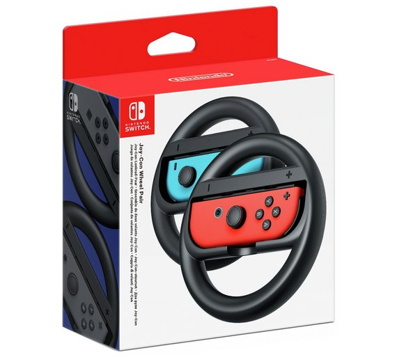 Buy Nintendo Switch Joy Con Wheel Pair Nintendo Switch Accessories