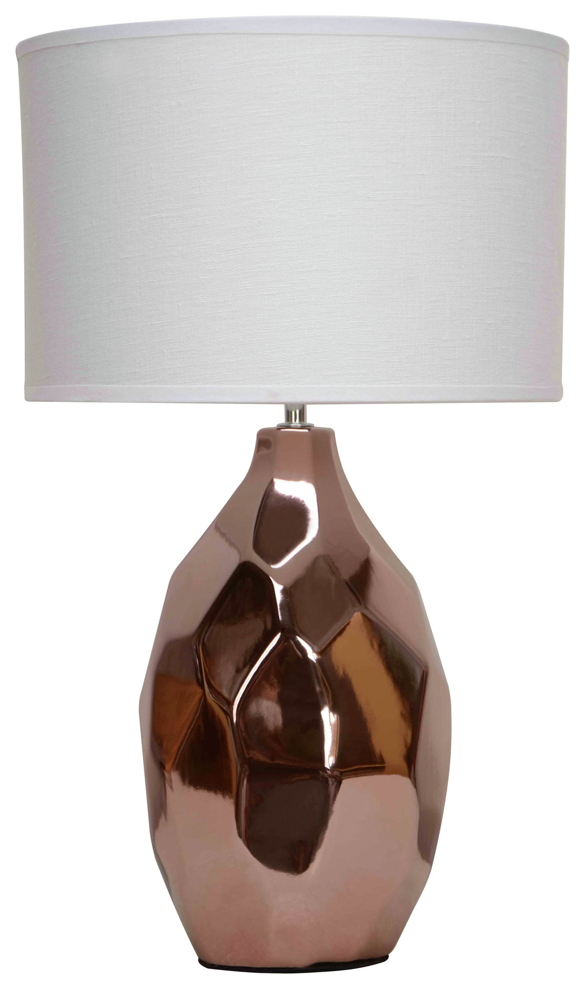 Image of West - Ceramic - Table Lamp - Ivory