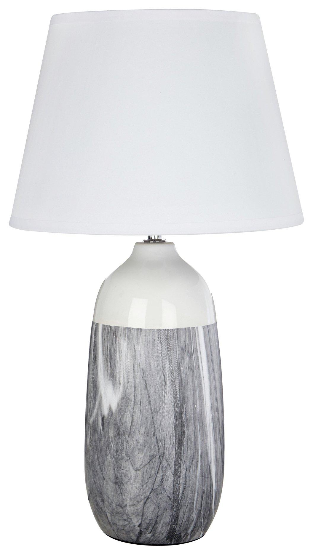 Welma Ceramic Table Lamp - Grey
