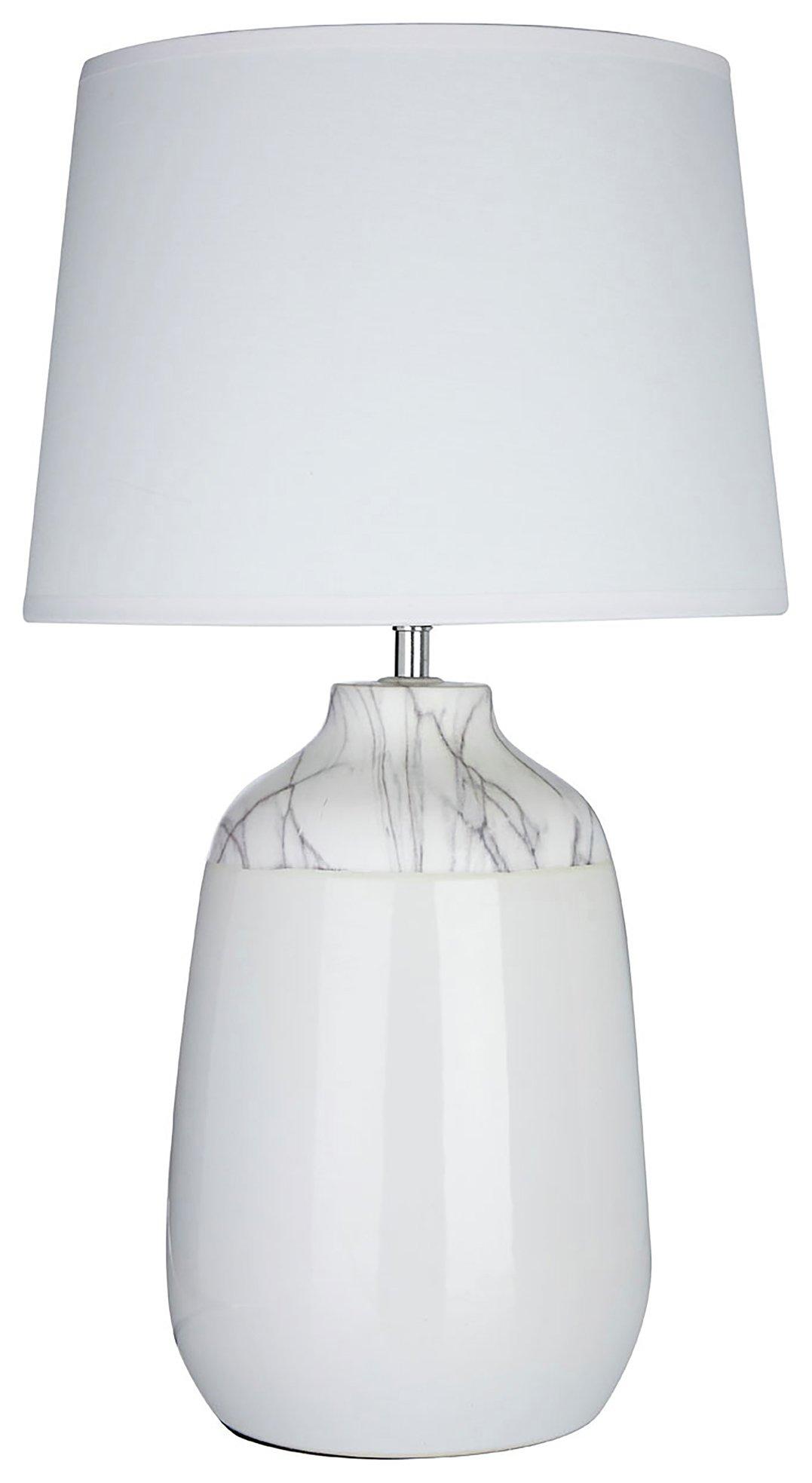 Image of Wenita - Ceramic - Table Lamp - White