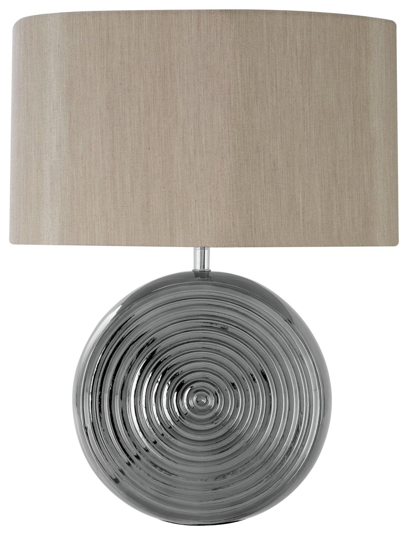 Image of Jessica Ceramic Table Lamp - Natural