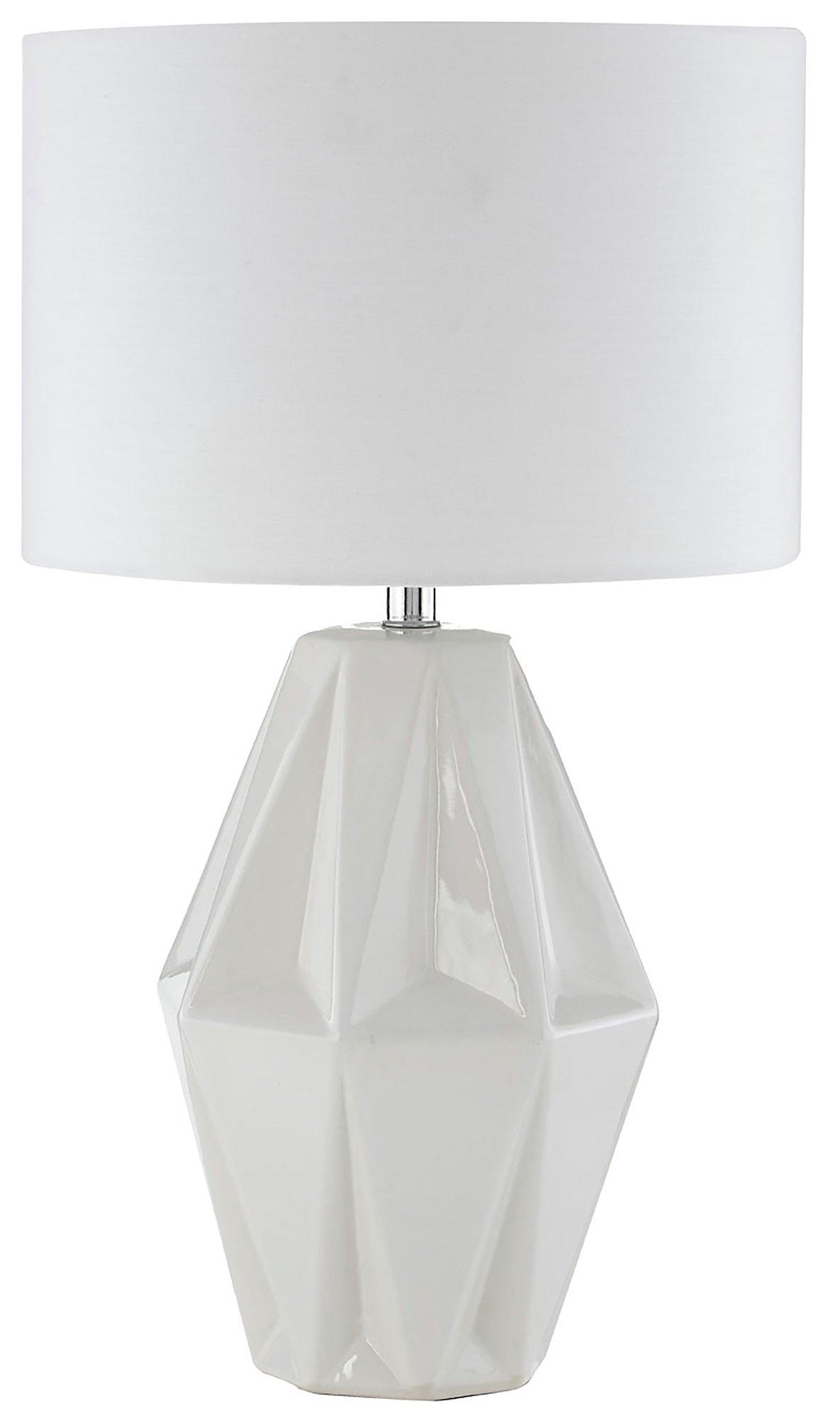 Image of Jenna - Ceramic - Table Lamp - White