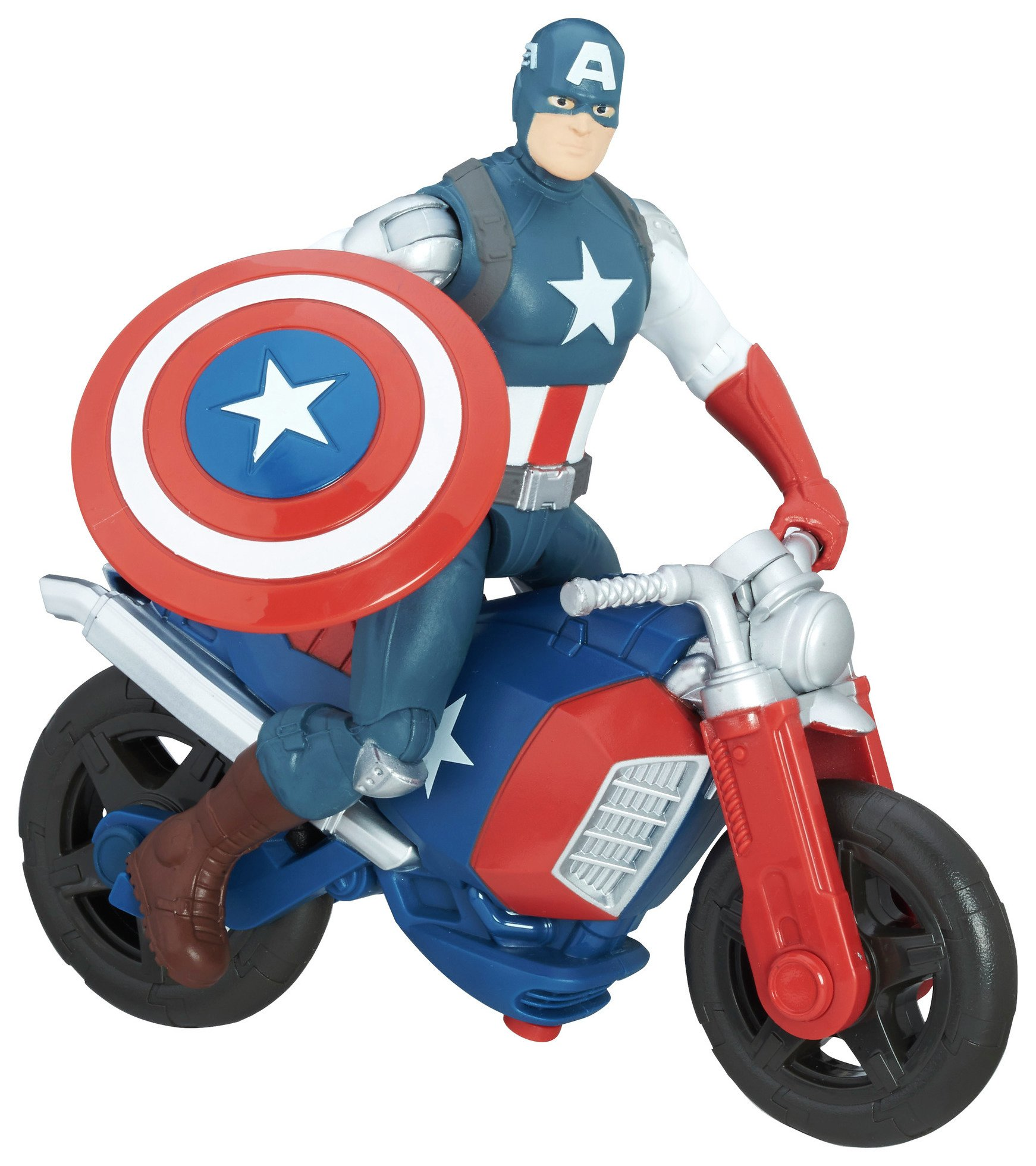 Marvel Avengers 6-Inch Captain America Figure and Vehicle.