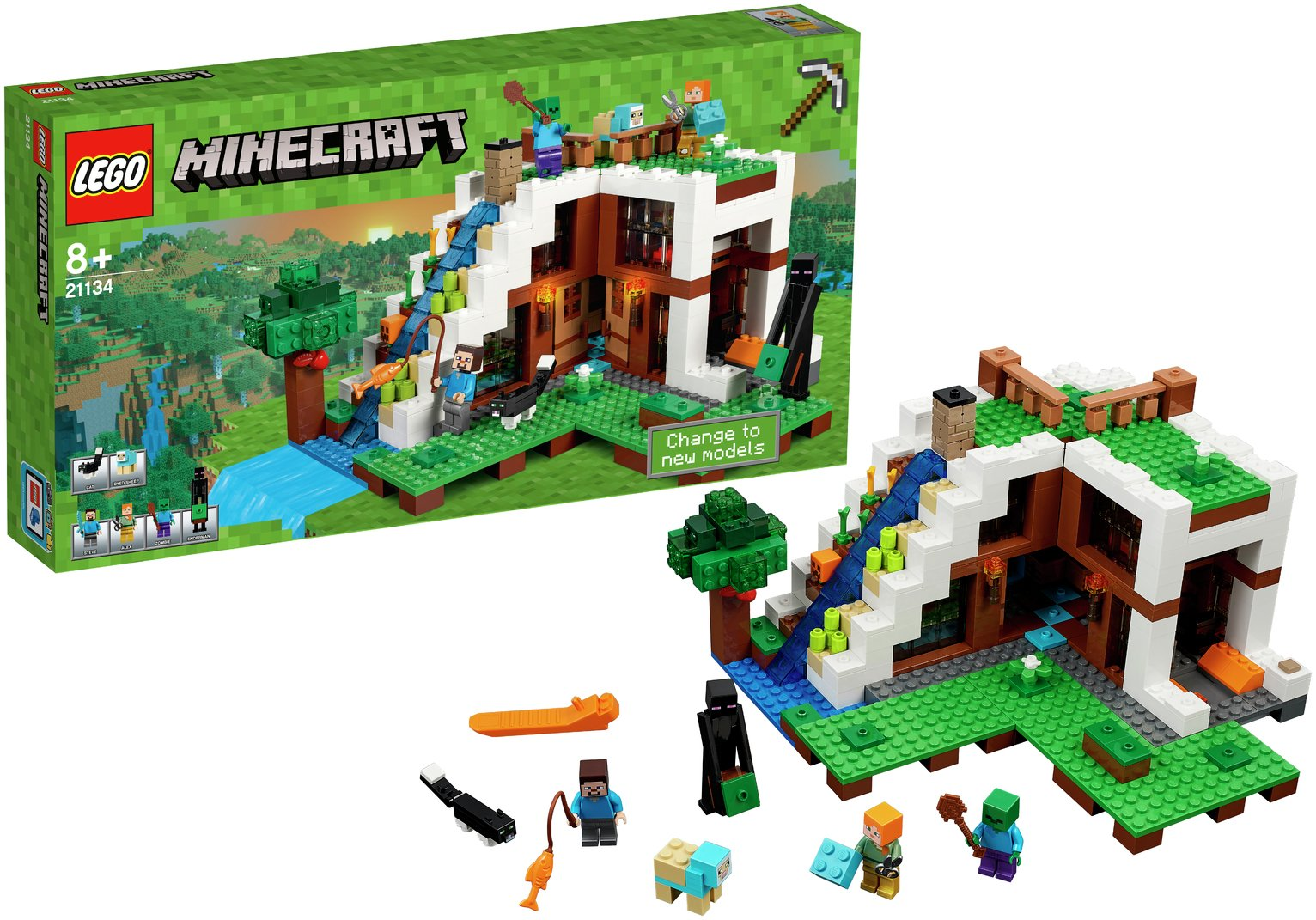 LEGO Minecraft The Waterfall Base - 21134.
