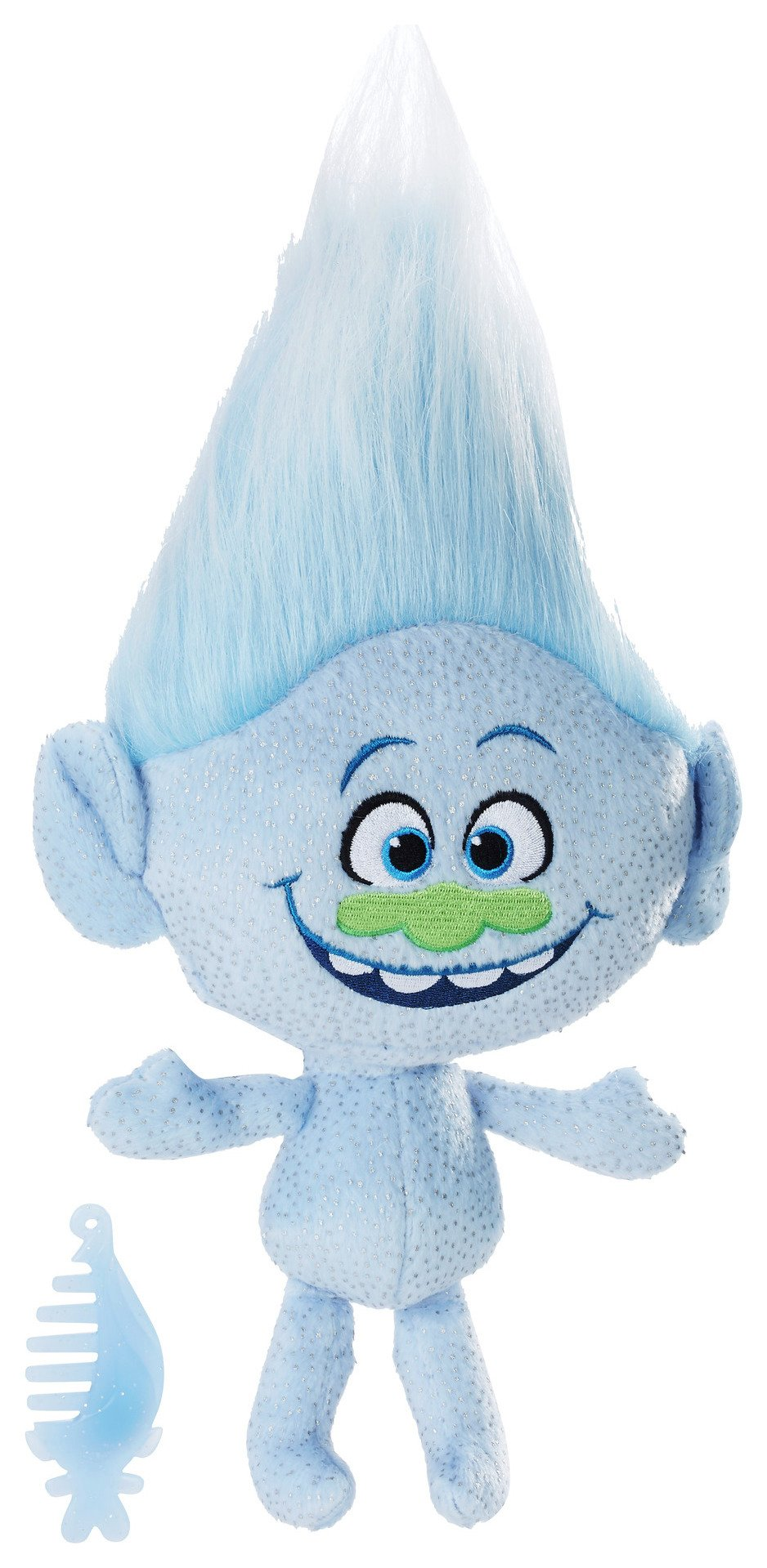 DreamWorks Trolls Guy Diamond Talkin' Troll Plush Doll