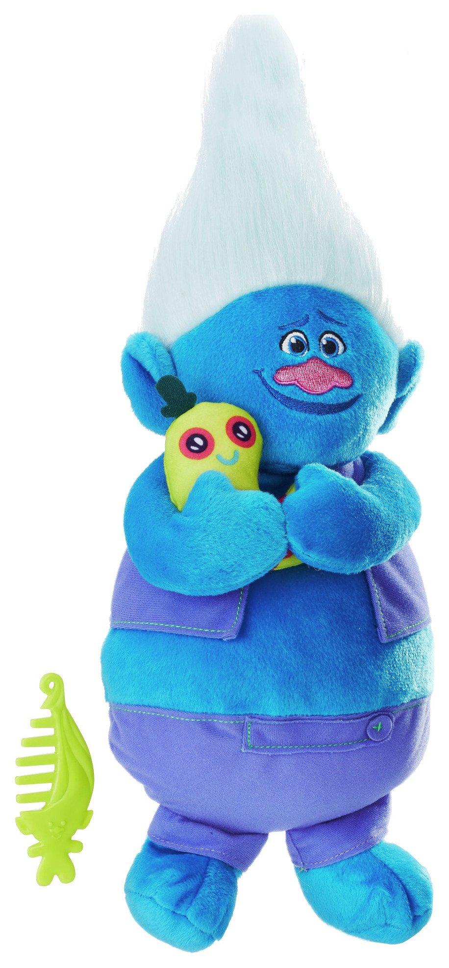 DreamWorks Trolls Biggie Talkin' Troll Plush Doll