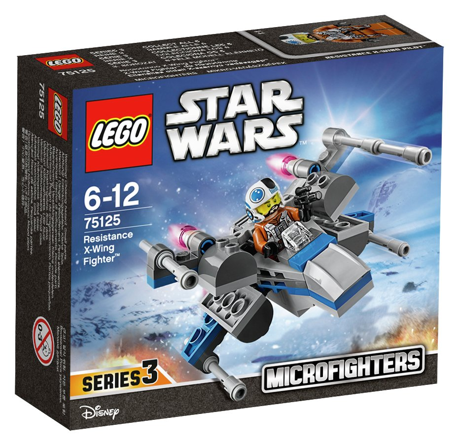 lego star wars resistance x wing fighter.