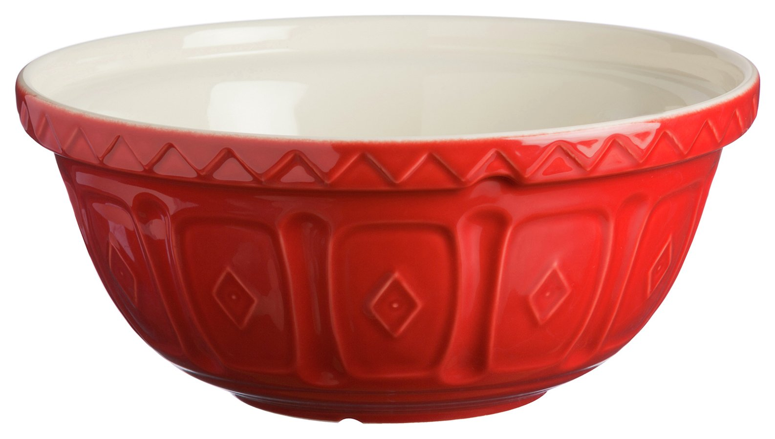 Image of Mason Cash 29cm Red Mixing Bowl.