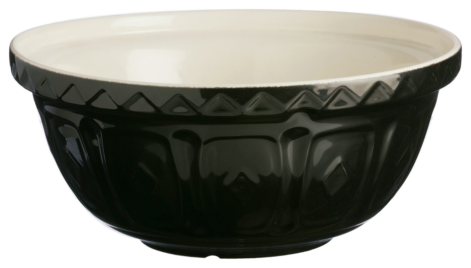 Image of Mason Cash 29cm Black Mixing Bowl.