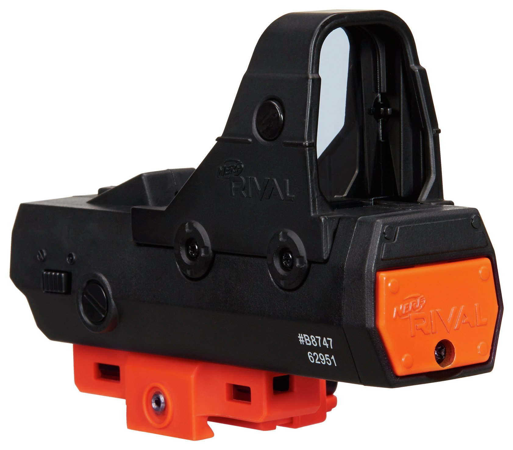 nerf rival red dot sight.