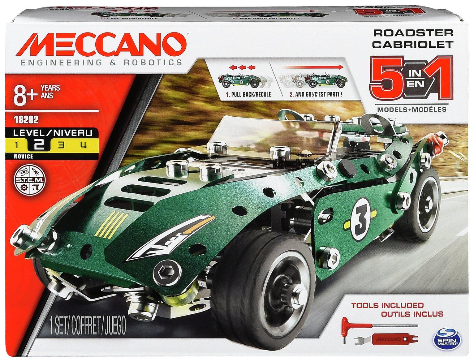 Meccano 5 Model Roadster Set