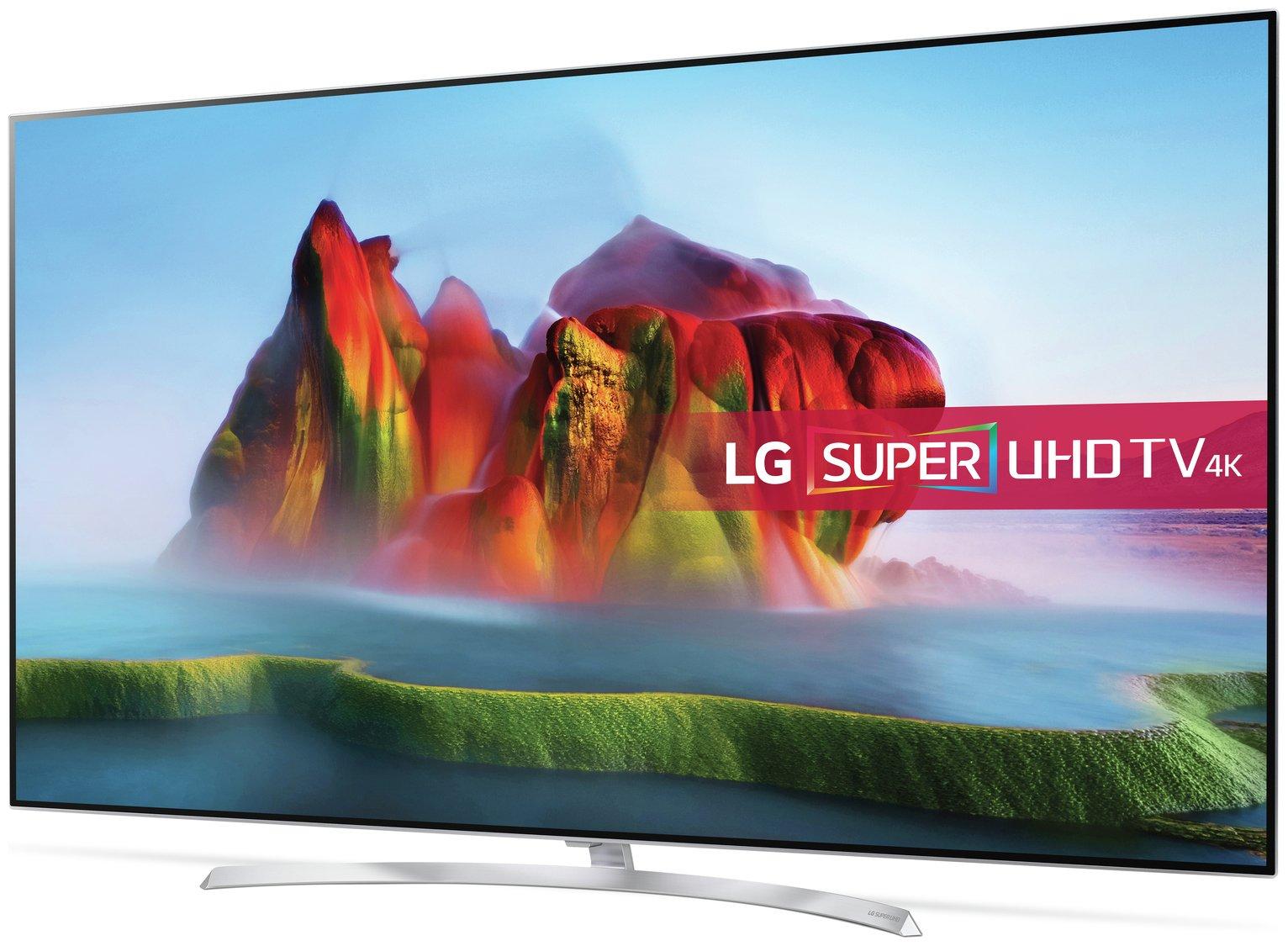LG LG 55SJ950V 55 Inch Smart 4K Ultra HD TV with HDR
