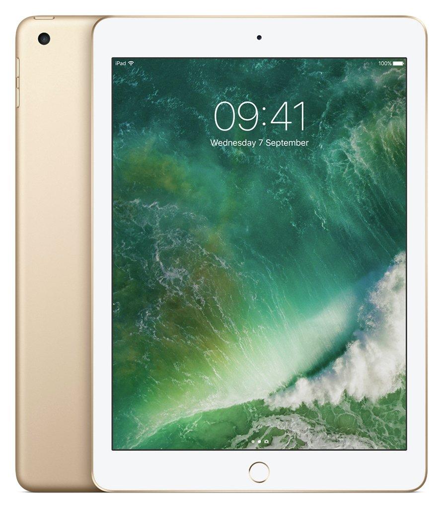 Image of Apple iPad 9.7 Inch Wi-Fi 128GB - Gold