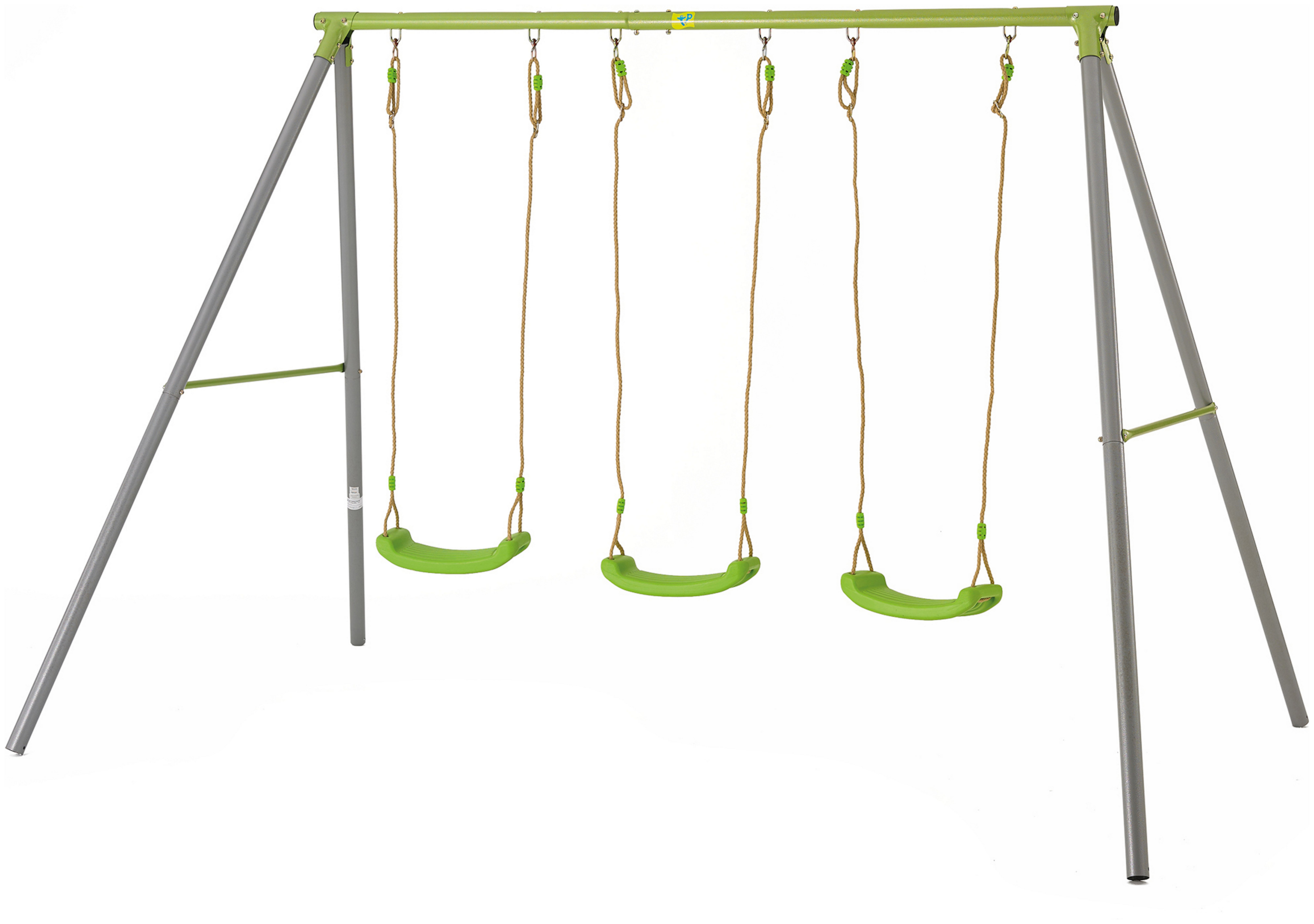 Sale On Tp Triple Metal Swing Set Tp Toys Now Available