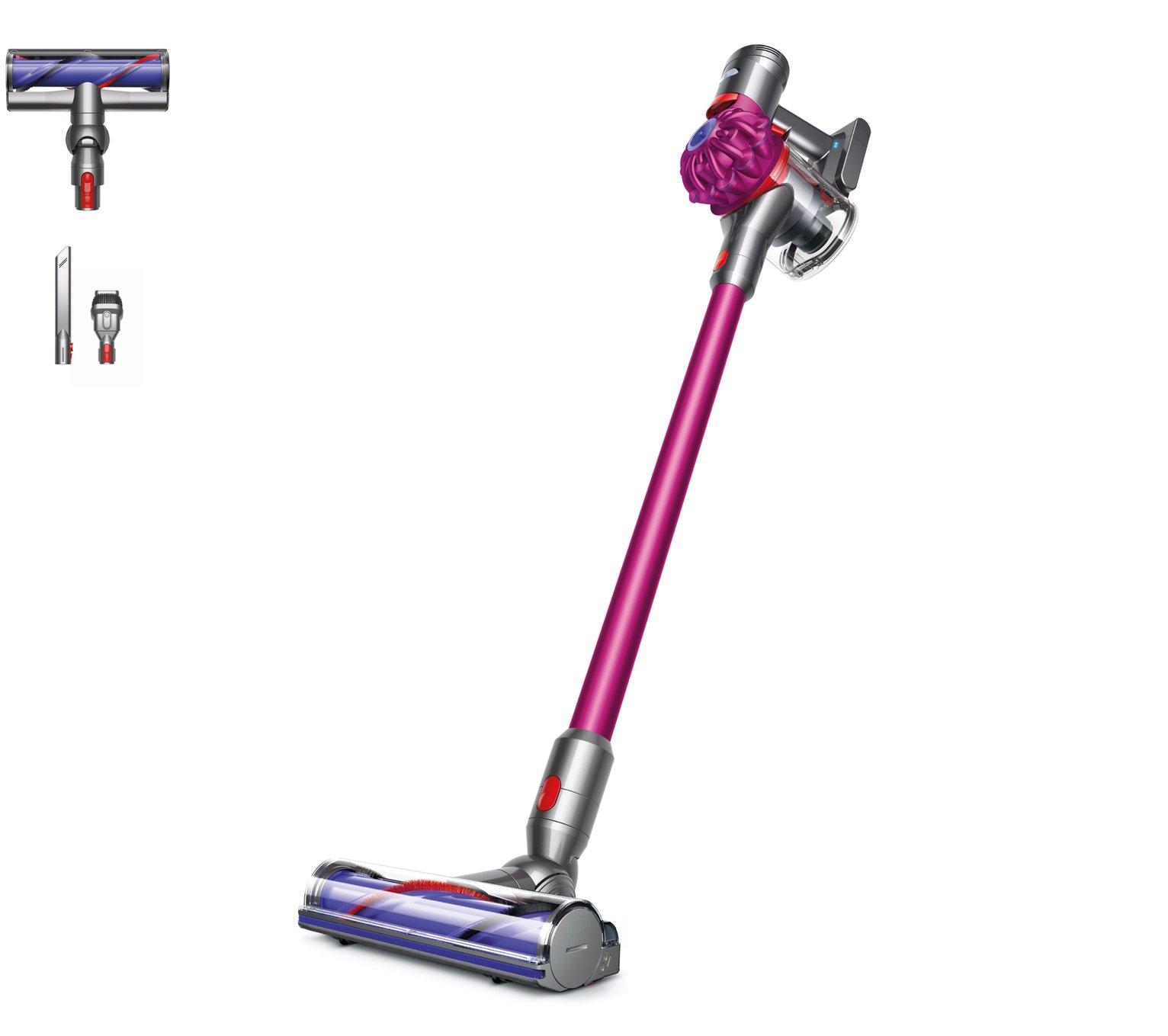 gtech air ram vs dyson v6 battle of the cordless vacuums 2017. Black Bedroom Furniture Sets. Home Design Ideas
