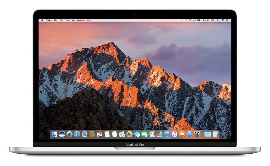 apple Apple MacBook Pro Touch 2017 13 In i5 8GB 256GB Silver