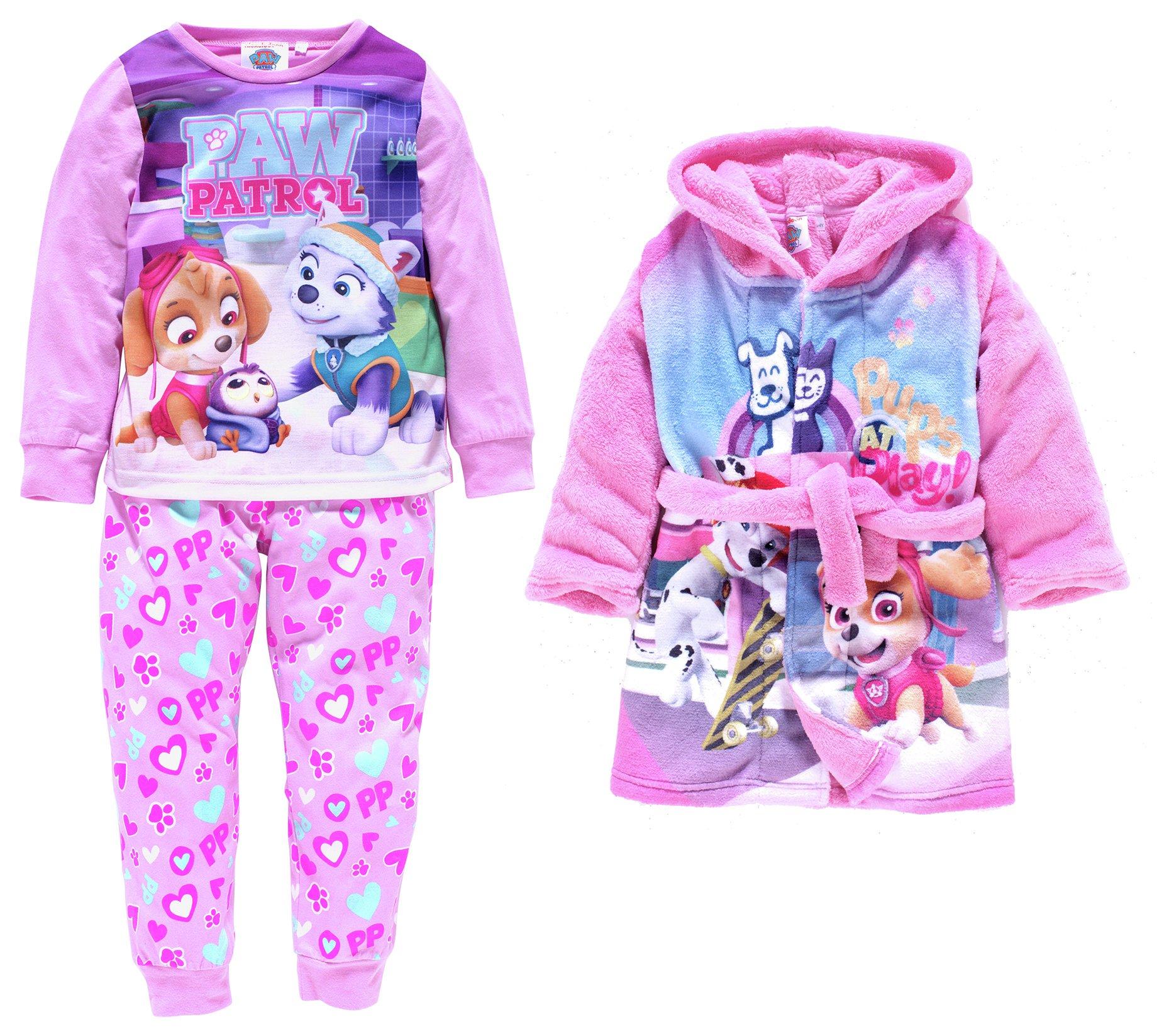 Image of PAW Patrol Pink Nightwear Set - 3-4 Years