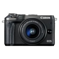 Canon EOS M6 Compact System Camera with 15-45 mm Lens