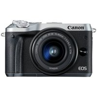 Canon EOS M6 Compact System Camera with 15-45mm Lens