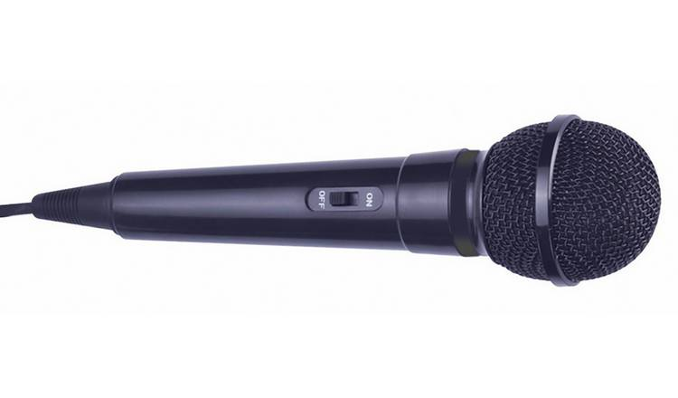 Mr Entertainer Handheld Karaoke Microphone - Black