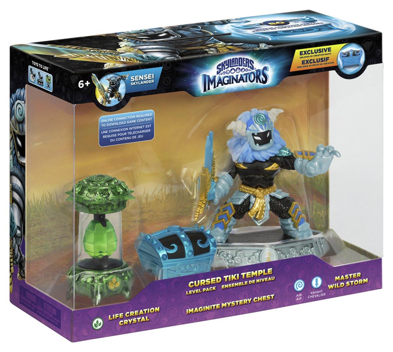 Skylanders Imaginators Cursed Tiki Temple Adventure Pack.