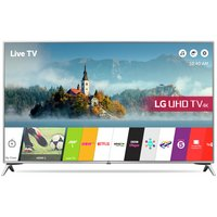 LG 49UJ651V 49'' 4K Ultra HD Silver LED TV with HDR